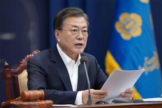 韓美정상통화, 한반도 평화 '공통분모' 퍼즐 풀릴까 (상보)
