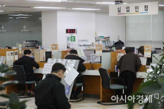 한국의 고용, '총 난이도'… 고용 감소, 실업률 증가, 지원 자금 고갈
