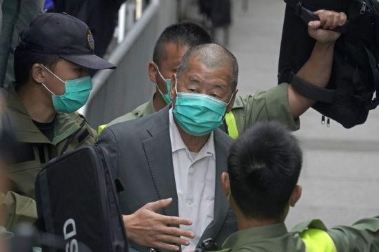 홍콩 재판소, 중국 언론 보석에 대한 판결