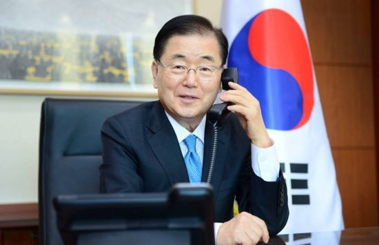 정의용, 영국 외교장관과 통화…G7 정상회의 기여 의지 표명