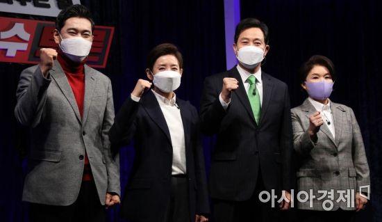 오세훈 누른 나경원 토론회 3승…조은희 1승