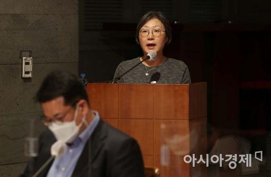 [포토]발언하는 박혜경 방역지원단장