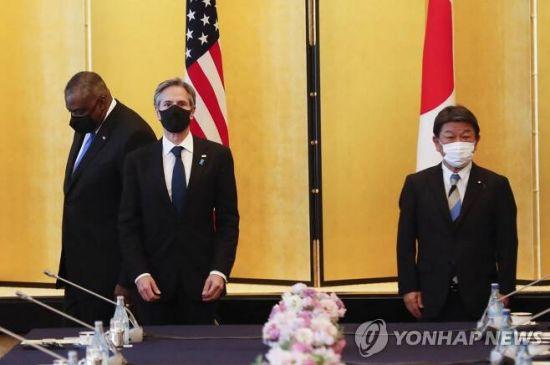 미국과 일본, 북한 비핵화 의지 재확인