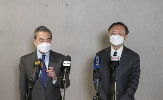 """중국, """"정직하고 건설적인 대화, 차이를 재확인"""""""