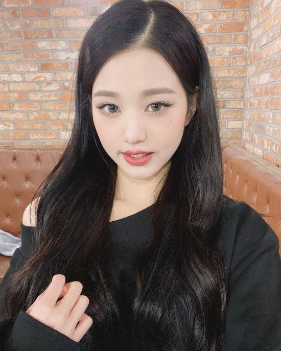 [포토] 장원영 '심쿵 윙크'