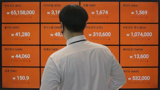 """'2030' 지난달 코인 앱만 봤나…1.2억시간 사용 """"1100%↑"""""""