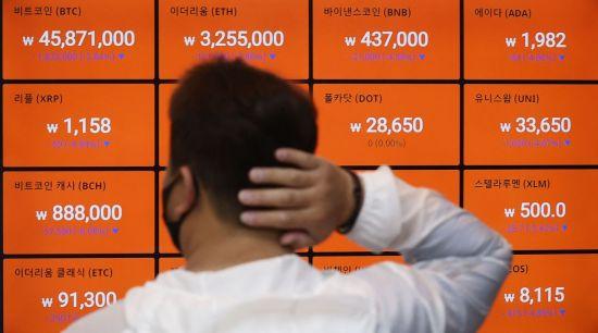 비트코인 8%대 하락…이더리움·도지코인 등도 일제히 하락