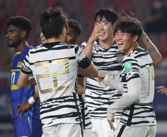 벤투호, 스리랑카에 5-0 대승…사실상 최종예선 진출