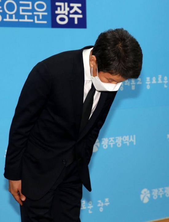 """정몽규 HDC그룹 회장 """"광주 사고, 머리숙여 사죄드린다"""""""