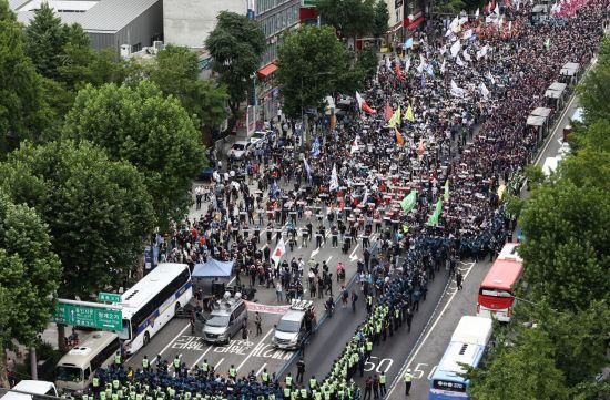 한 달 앞 민주노총 10월 총파업 덩치 커진다