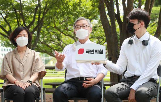 """최재형, 이재명 기본소득 또 직격 """"기본소득이 성장정책? 궤변일 뿐"""""""