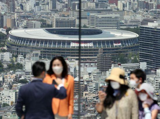 올림픽 개막 D-1…日 코로나19 확진자 5000명 돌파
