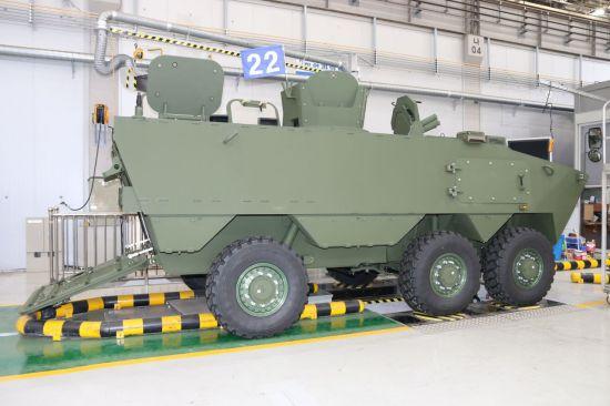 [디펜스기고]K806 차륜형 장갑차 말레이시아 수출 노린다