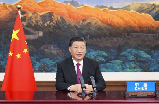 시진핑, UN총회 연설 통해 바이든 비판