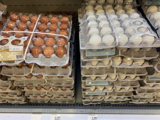 정부, 계란 한 판 1.2만원에 수입해 3천원에 팔아…천억원대 손실
