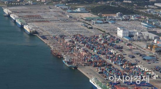 8월 항만 수출입 물동량 1억1074만t…전년比 9% ↑