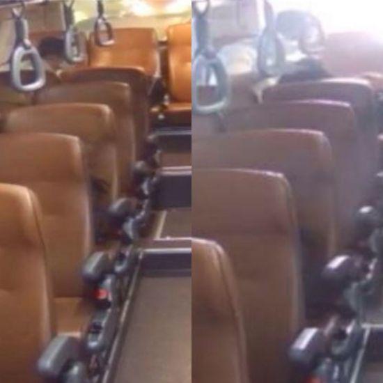 """""""이런 변이 있나"""" 광역버스에 대변 누고 간 60대 男…버스 기사 분노"""