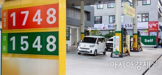 [포토]휘발유 가격 소폭 상승