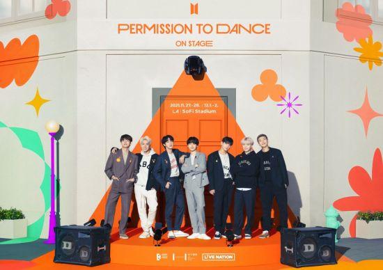방탄소년단, 11월 美 LA 콘서트 개최…2년 만의 오프라인 공연