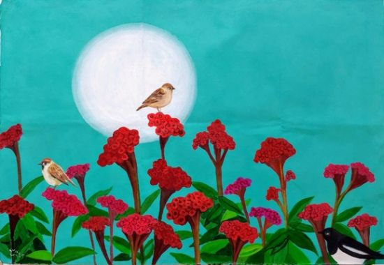신안군 '변치 않는 사랑의 꽃' 맨드라미 전시회