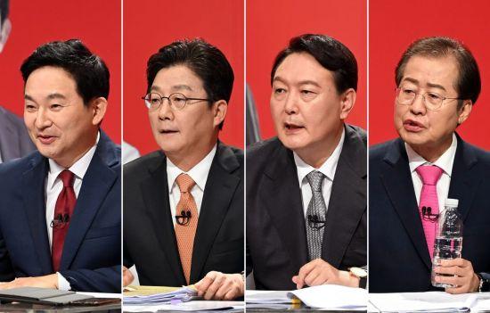 대선 경선 '최후의 대결' 앞둔 국민의힘…여론조사 '룰의 전쟁' 예고